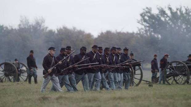 The Honey Springs Battlefield and Visitor Center are preparing their biannual reenactment of the Civil War Battle of Honey Springs, which will take place Saturday and Sunday at the Honey Springs Battlefield. [Photo provided]