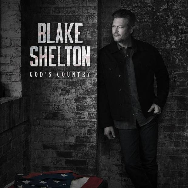 "Blake Shelton's new single is the country-rock anthem ""God's Country."" [Cover art provided]"