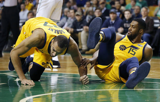 NBA Notebook: Rudy Gobert sidelined with knee injury