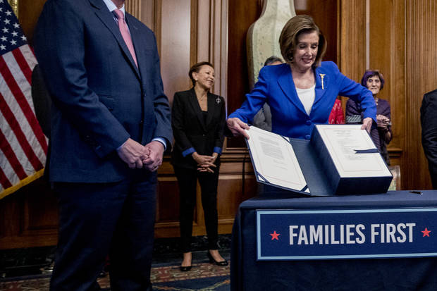 In pivot, Pelosi sees next relief bill with bipartisan goals