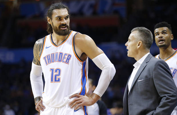 big sale 8dc9e f66b9 Russell Westbrook out, Steven Adams a game-time decision ...
