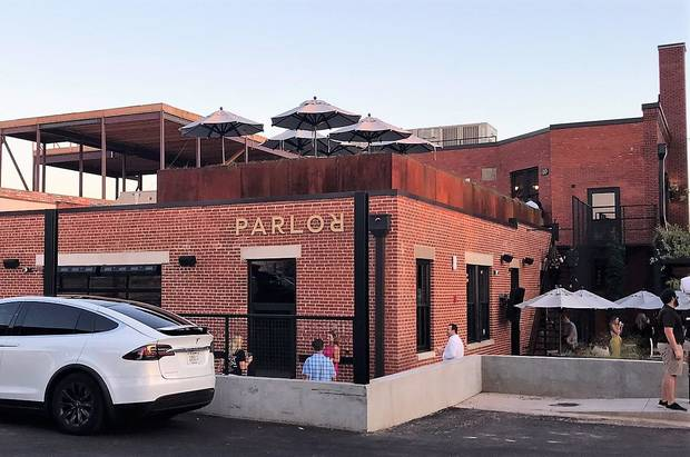 Parlor OKC is open for business in downtown Oklahoma City. [Dave Cathey/The Oklahoman]