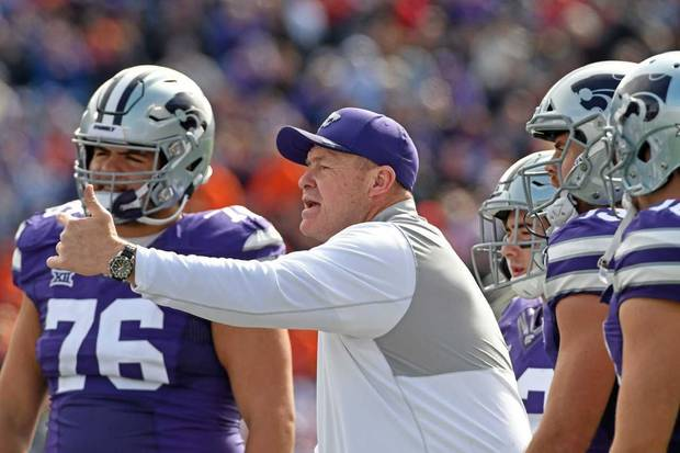 Oklahoma State has hired former Kansas State assistant Charlie Dickey as its new offensive line coach. [Photo courtesy of Kansas State Athletics]