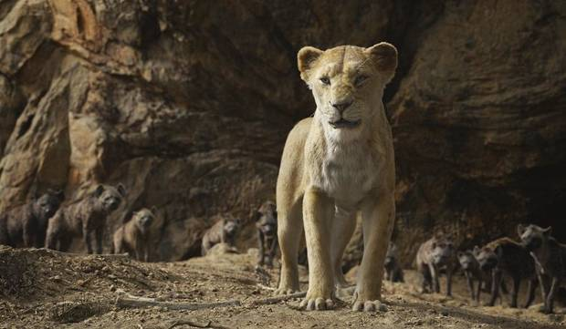 "Sarabi, voiced by Tulsa native Alfre Woodard, appears in a scene from Jon Favreau's new remake of ""The Lion King."" [Disney photo]"