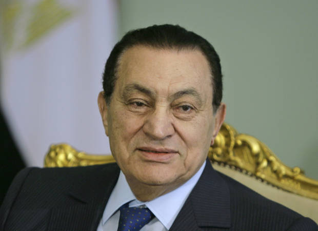 Egyptian state TV says ex-President Mubarak has died at 91