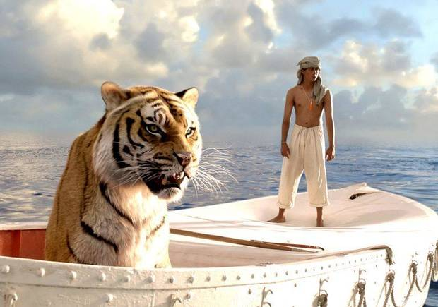 "The centerpiece of the Oklahoma City Philharmonic's Oct. 5 Classics concert will be Canadian composer Mychael Danna's Oscar-winning suite from the acclaimed 2012 film ""Life of Pi,"" about a young Indian man who survives a shipwreck but ends up adrift in a lifeboat with a Bengal tiger. [Fox 2000 photo]"