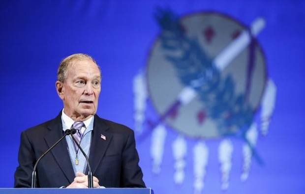 Bloomberg says resume, resources can beat Trump