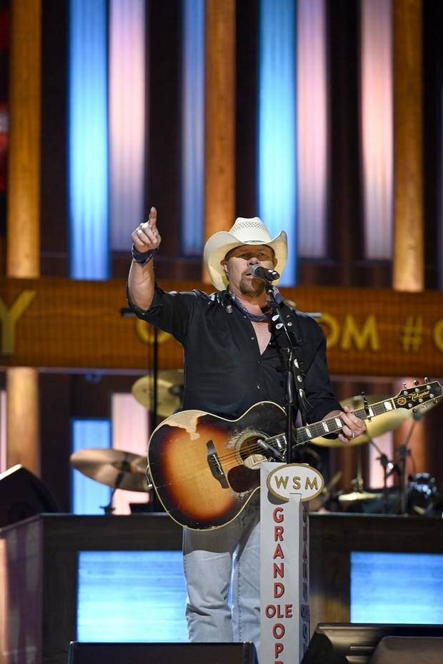 Watch: Toby Keith talks about Dolly Parton's influence at her Grand Ole Opry 50th anniversary celebration