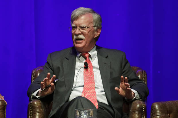 Publisher pushes back release date for John Bolton's book