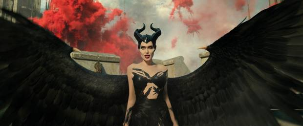 "Angelina Jolie stars as Maleficent in the sequel ""Maleficent: Mistress of Evil."" [Disney photo]"