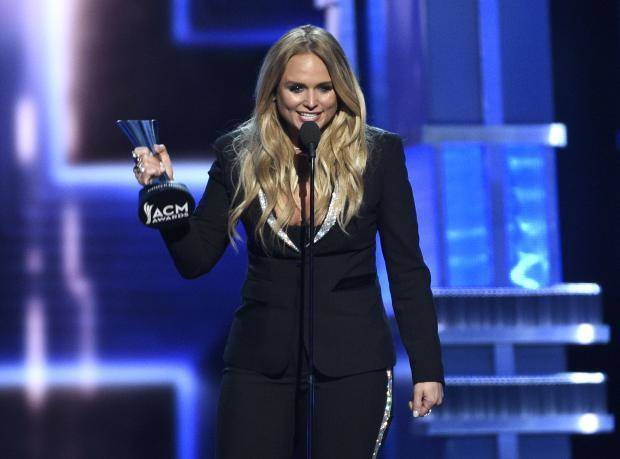 Video photos miranda lambert has a big night at the for Academy of country music award for video of the year