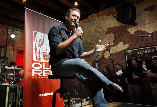 Blake Shelton and Luke Bryan to play Tishomingo for grand opening of