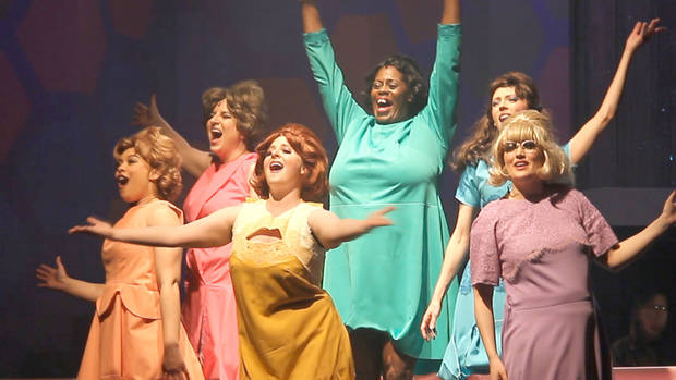 "Guthrie's Pollard Theatre is in the final weekend of its production of ""Beehive: The 60's Musical."" [Photo provided]"