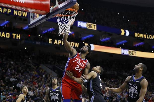 NBA Roundup: Embiid dons No. 24 for Bryant and scores 24 in win