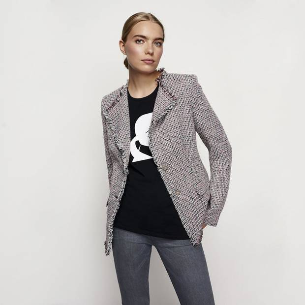 Tweed jacket from the new Karl Lagerfeld Paris collection for Long Tall Sally.