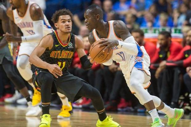 Thunder vs. Hawks lineups, tip-off time and TV info