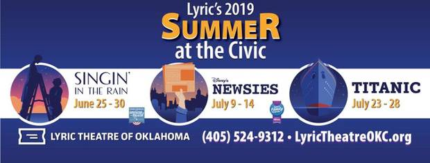 Lyric Theatre's summer season begins June 25.