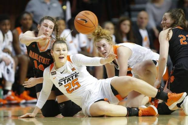OSU women's basketball: Abbie Winchester, Bigue Sarr filling key roles while Cowgirls battle injuries