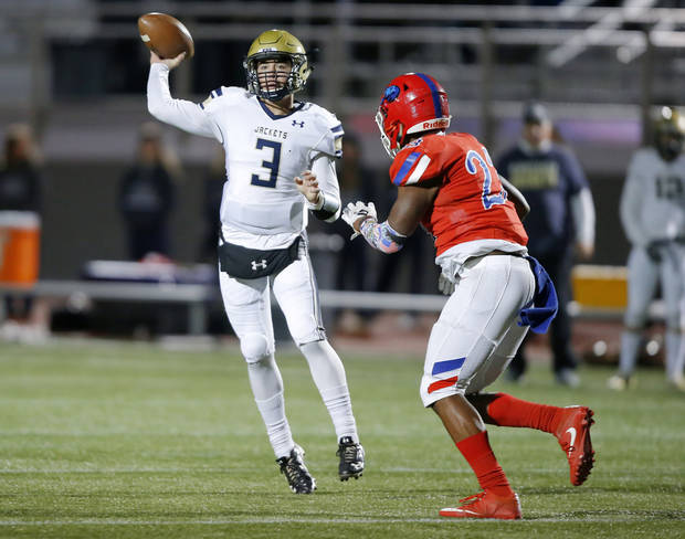 High school football: Kingfisher beats Marlow 45-42 in triple overtime, advances to quarterfinals of Class 3A playoffs