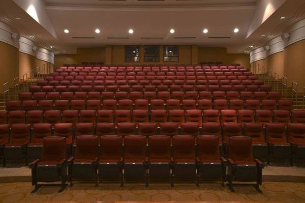 The Oklahoma City Museum of Art has installed upgraded seating in its historic Samuel Roberts Noble Theater. [Photo provided]