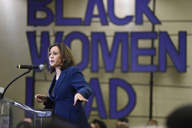 Harris hopes to make 'magic' with black women in SC