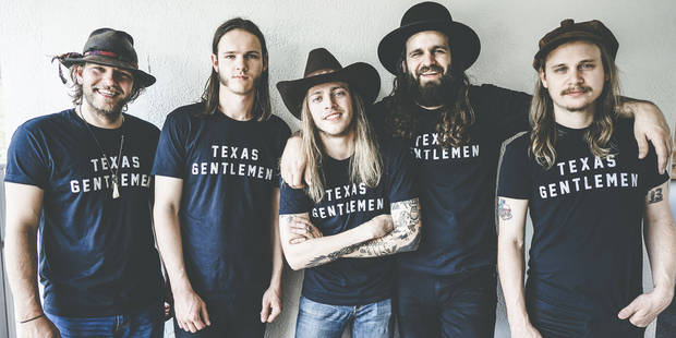 The Texas Gentlemen will perform as the headlining act on the Harkins Fountain Stage for ACM@UCO's Metro Music Fest at 10:30 p.m. April 6. [Photo provided]