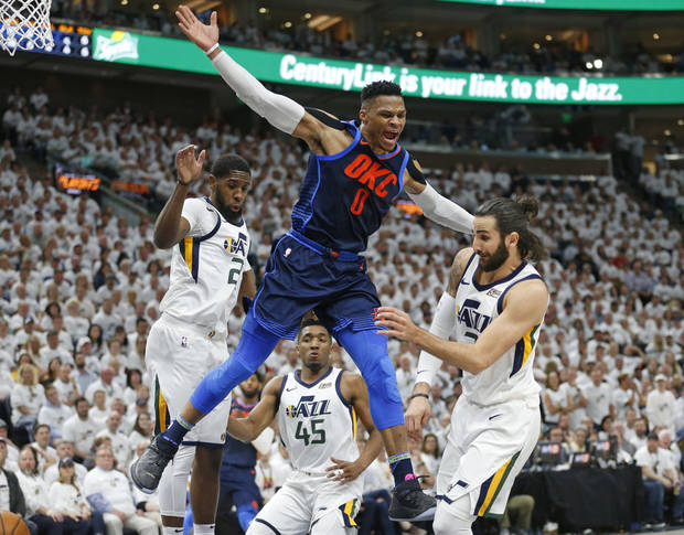 Game 4 report card: Thunder excels in drama, little else