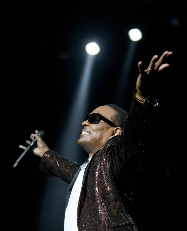 "Charlie Wilson performs during the ""In It To Win It Tour"" at the Chesapeake Energy Arena, Friday, March 17, 2017. [Sarah Phipps/The Oklahoman Archives]"