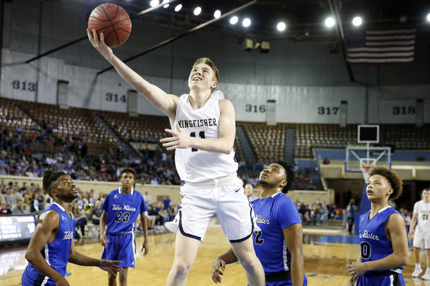Kingfisher guard Jett Sternberger commits to Rogers State