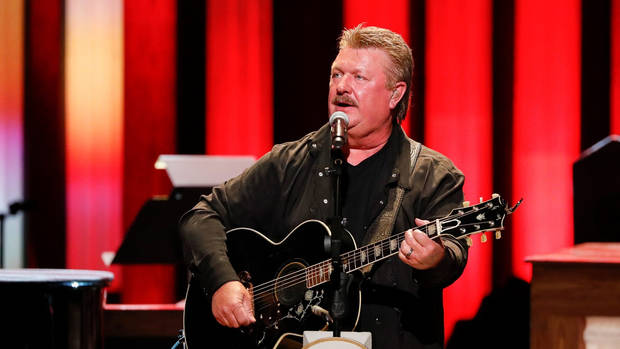 Joe Diffie performs at the Grand Ole Opry on Tuesday, July 16, 2019 in Nashville, Tenn. [Photo by Al Wagner/Invision/AP]