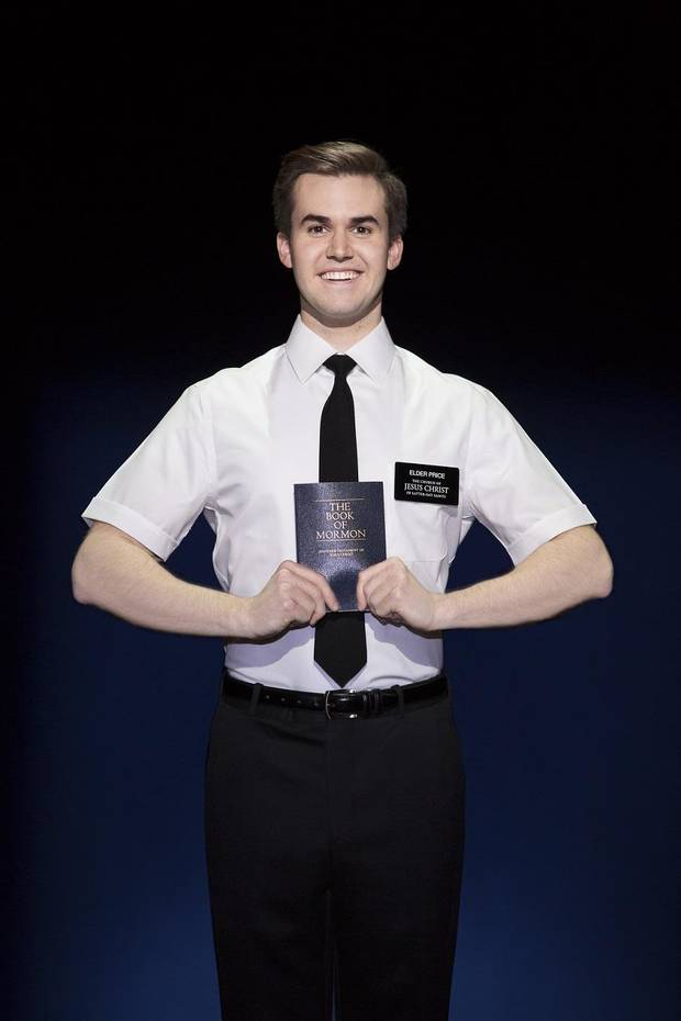 Kevin Clay Plays Elder Price In The Current National Tour Of Book Mormon