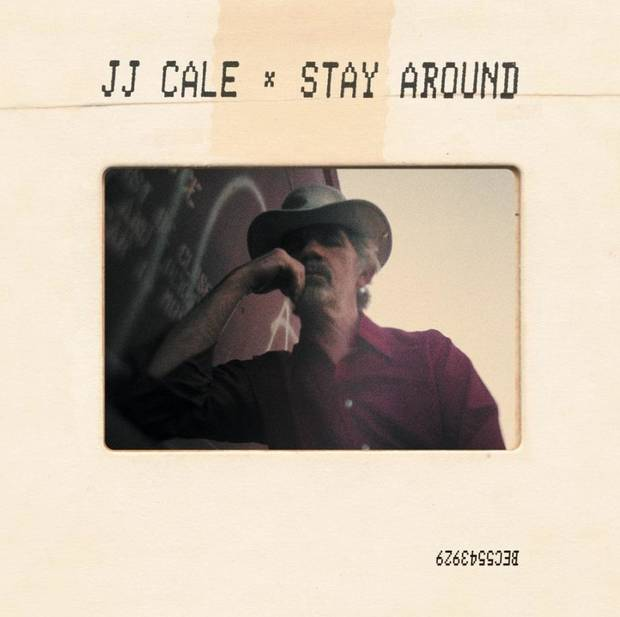 """Stay Around,"" the first posthumous release of works by beloved Oklahoma native, songwriter, guitarist and singer JJ Cale, is out today via Because Music. [Cover art provided]"