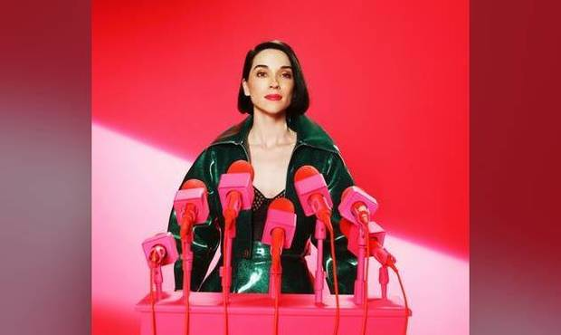 "Tulsa-born singer, songwriter and guitarist St. Vincent released her fifth album, ""Masseduction,"" in 2017. It became her first Top 10 album on the Billboard 200 chart. Photo provided"