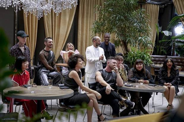 "Twelve fashion designers from around the world compete in the hotly anticipated new Amazon Original series ""Making the Cut."" Ji Won Choi, far left, was born in Seoul, South Korea, and grew up in Moore, Oklahoma. [Photo provided]"