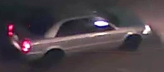 Oklahoma City police released an image of a vehicle thought to have been involved in the painting of racist graffiti found at two buildings last week.