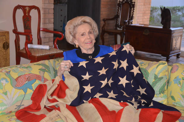 Treasured flag finds a new home