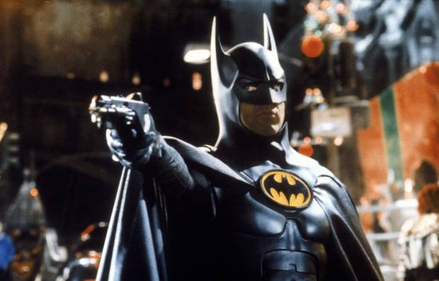 "Michael Keaton as Batman in 1989's ""Batman."" [Warner Bros]"