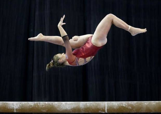 'I couldn't see myself going to another school': Q&A with Sooners' gymnast Carly Woodard