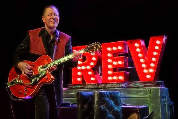 Jim Heath is frontman for the revered Texas rockabilly band the Reverend Horton Heat. [Photo provided]