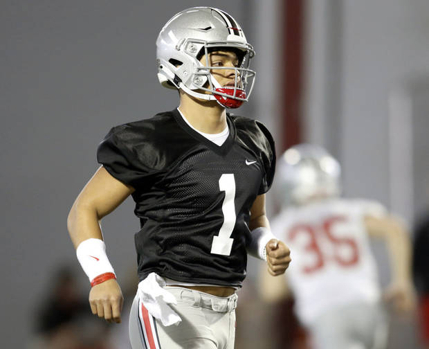 b1c168a312b AP Top 25 Podcast: Big Ten talk and surprise team encores Ohio State is  ready to unveil new quarterback Justin Fields at the Buckeyes' spring game.