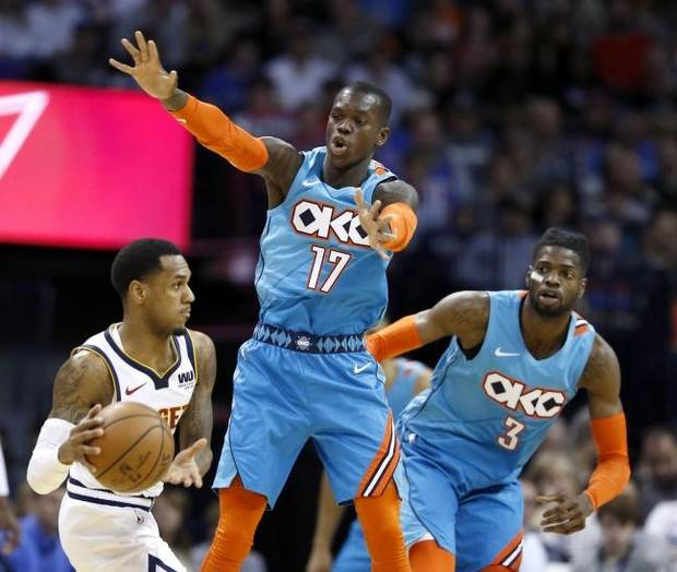 Thunder vs. Nuggets lineups, tip-off time and TV info