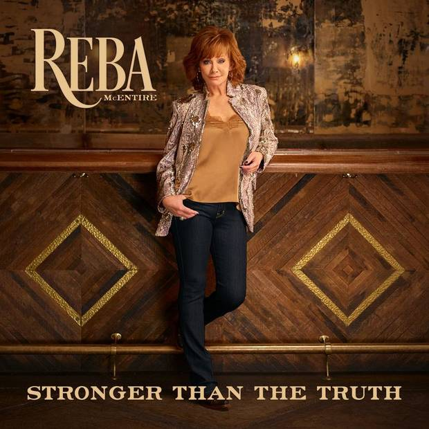 "Reba McEntire is releasing her new album ""Stronger Than the Truth"" Friday on Big Machine Records. [Album cover art provided]"