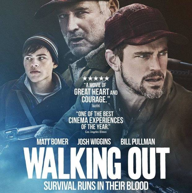 "The inaugural Tonkawa Film Festival will include a special screening of ""Walking Out."" [Poster image provided]"