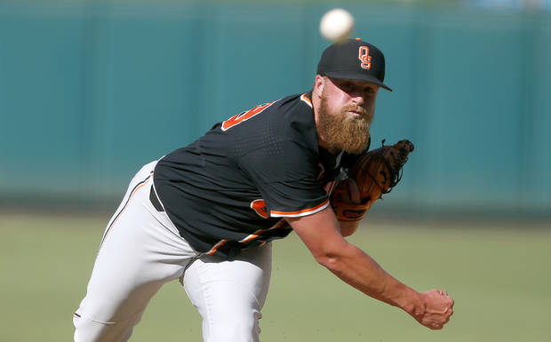 OSU baseball: Brett Standlee ready for any pitching role