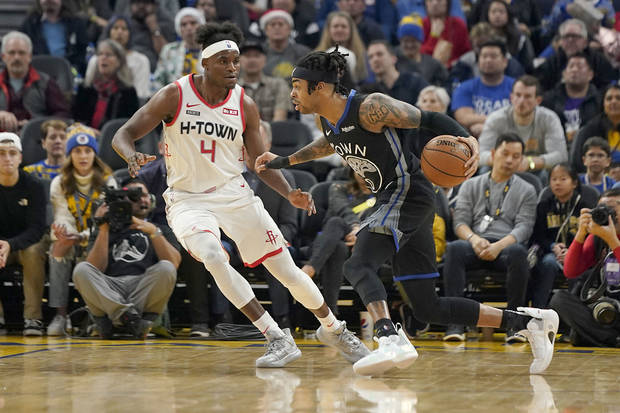 Green, Lee help short-handed Warriors beat Rockets