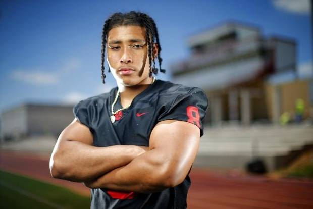 The Oklahoman's Super 30: Del City's Rejhan Tatum is a prized recruit thanks in part to 'freakish strength'