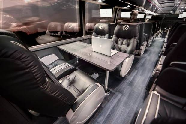 Luxury bus line launches service to Dallas