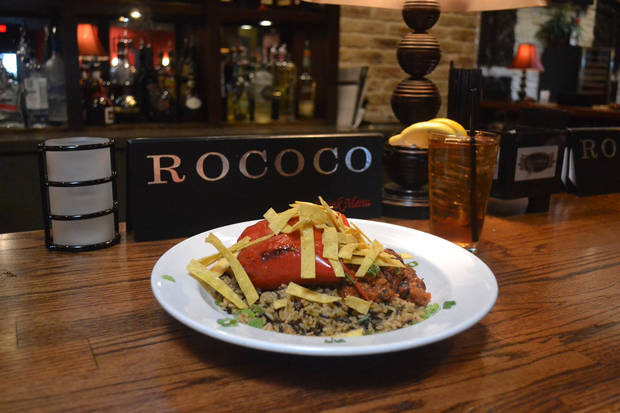 Give somebody a gift certificate to a local restaurant like Rococo.