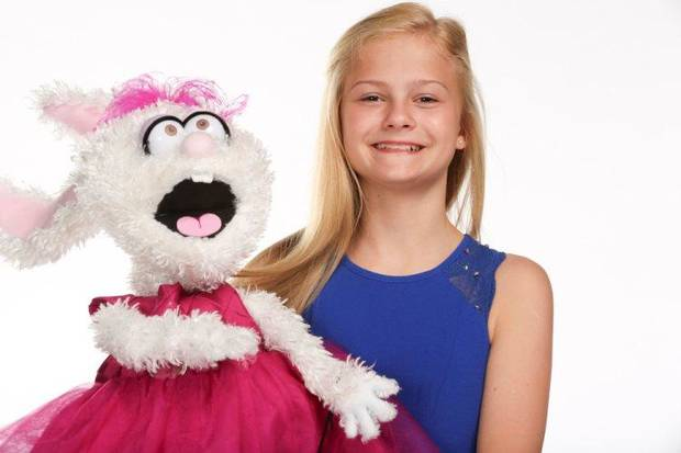 "Oklahoma City singer/ventriloquist and ""America's Got Talent"" winner Darci Lynne Farmer appears in a photo from the 2017 season of ""America's Got Talent."" She will return to the ""AGT"" stage for ""America's Got Talent: The Champions."" NBC photo"