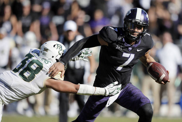 TCU beats Baylor 45-22 in Bears' season finale